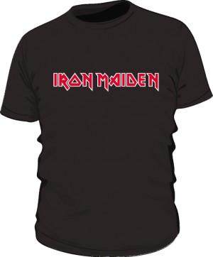 Koszulka Iron Maiden napis