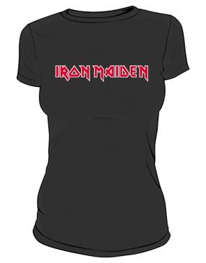Koszulka Iron Maiden napis damska