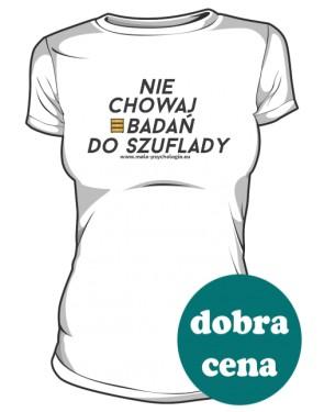 Koszulka badacza damska