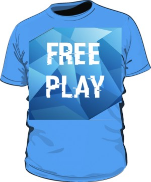 Tshirt męski FREEPLAY