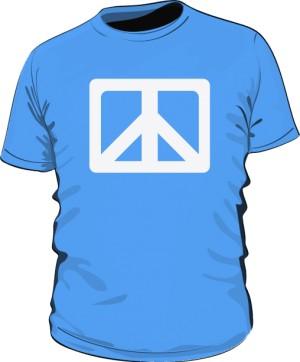Pacyfka Tshirt Męski Niebieski