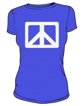 Pacyfka Tshirt Damski Niebieski