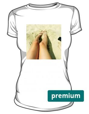 Dopasowana koszulka morska