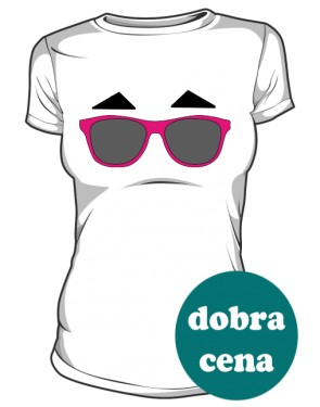 Darren Criss koszulka biała damska