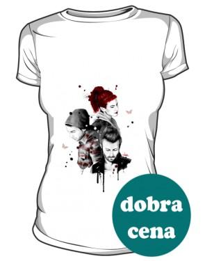Paramore koszulka biała damksa