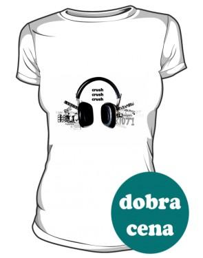 Paramore koszulka biała damska