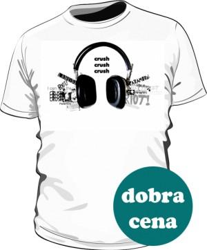 Paramore koszulka biała męska