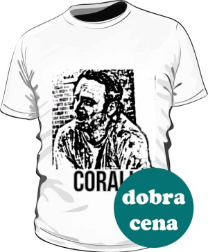 The Walking Dead Koszulka biała męska