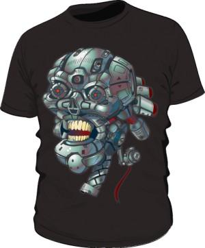 koszulka z czaskom