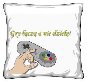 Poduszka gry łączą a nie dzielą