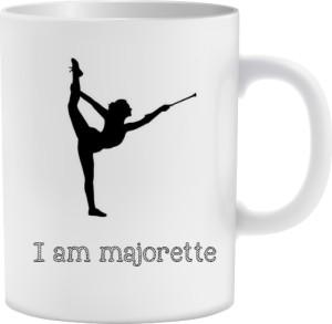 Kubek I am majorette