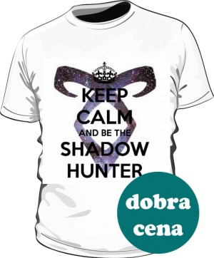 Koszulka biała Shadowhunters męska