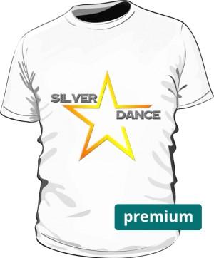 podkoszulka premium SILVER DANCE biała