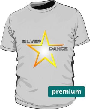 podkoszulka premium SILVER DANCE szara