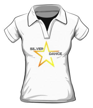 koszulka polo kobieca SILVER DANCE