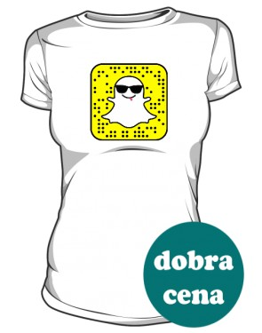 Social Media tshirt damski