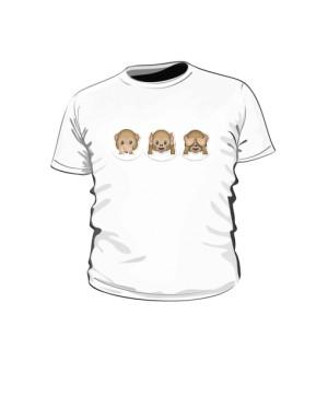 Małpiatki buzki koszulka dziecko