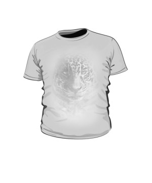 Leopard grey koszulka dziecko