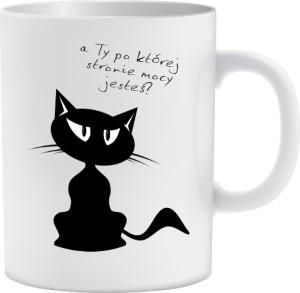 Kubek Czarny tajemniczy Kot
