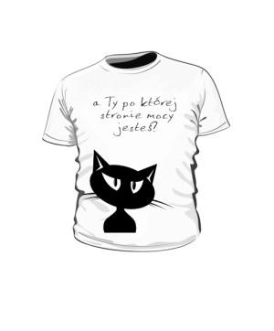 Czarny tajemniczy Kot dziecko