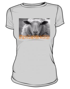 Koszulka szara damska
