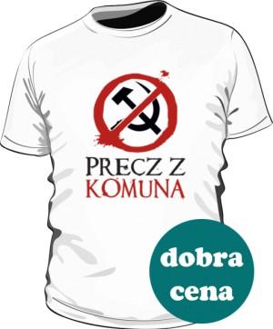 Koszulka męska Precz z Komuną
