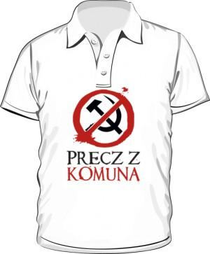 Koszulka polo męska Precz z Komuną