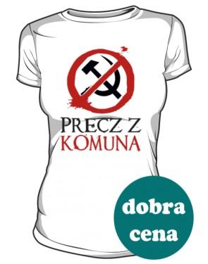 Koszulka damska Precz z Komuną