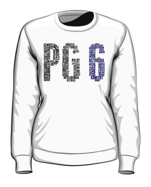 PG6 Biała bluza damska