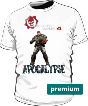 Gears Of War 4 Apocalipse tshirt 2w1