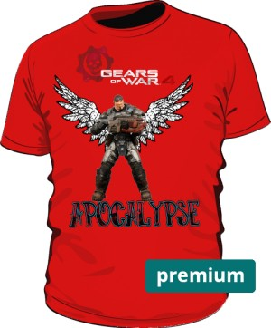 Gears Of War 4 Apocalipse tshirt