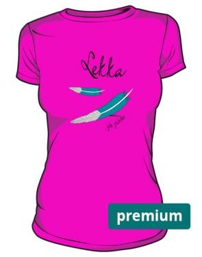 Lekka koszulka damska kolor