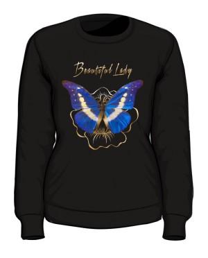 Bluza Piękna Pani z Motylem