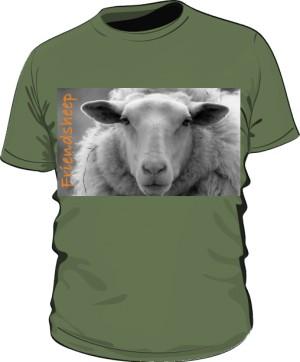 Koszulka męska khaki