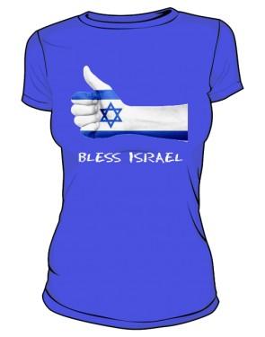 Koszulka damska niebieska