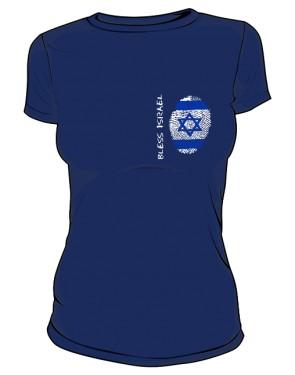 Koszulka damska granatowa