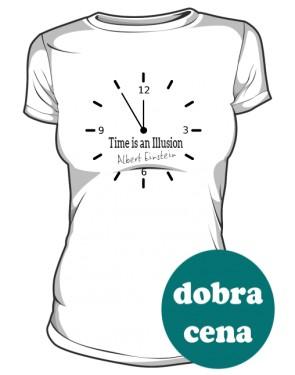 Zegar koszulka damska
