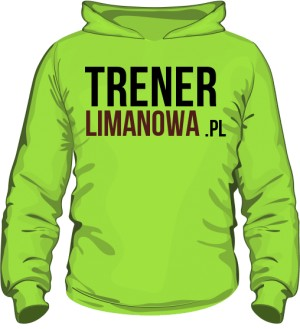 Bluza z kapturem TrenerLimanowa 2