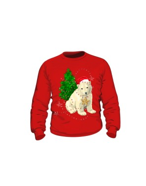 Mikołaj Miś Polarny 2 Bluza Dziecko