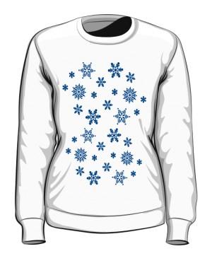 Gwiazdki Śniegowe Bluza Damska