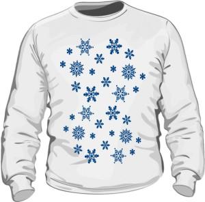 Gwiazdki Śniegowe Bluza Męska
