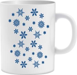 Gwiazdki Śniegowe Kubek Zimowy