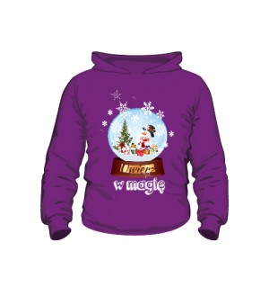 Kula Świąteczna Bluza kaptur dziecko