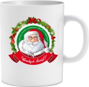 Mikołaj życzenia Kubek świąteczny