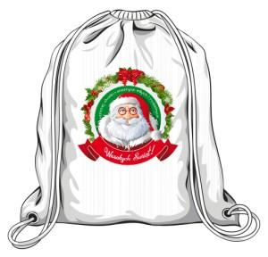 Mikołaj życzenia Torba Świąteczna 1