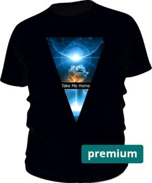 Kosmos 2 Home Koszulka Męska Premium