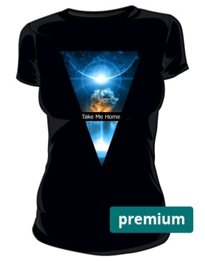 Kosmos 2 Home Koszulka Damska Premium