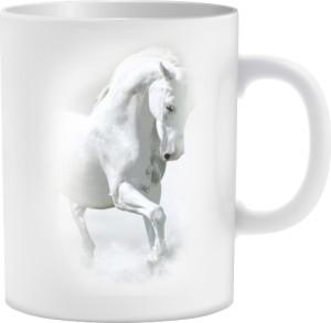 Biały Koń  Kubek wielostronny