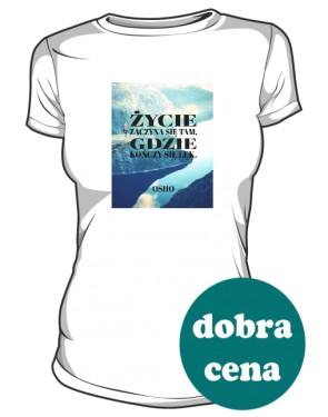 Koszulka Motywacyjna Damska