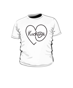 Kochana Serce Koszulka Dziecko